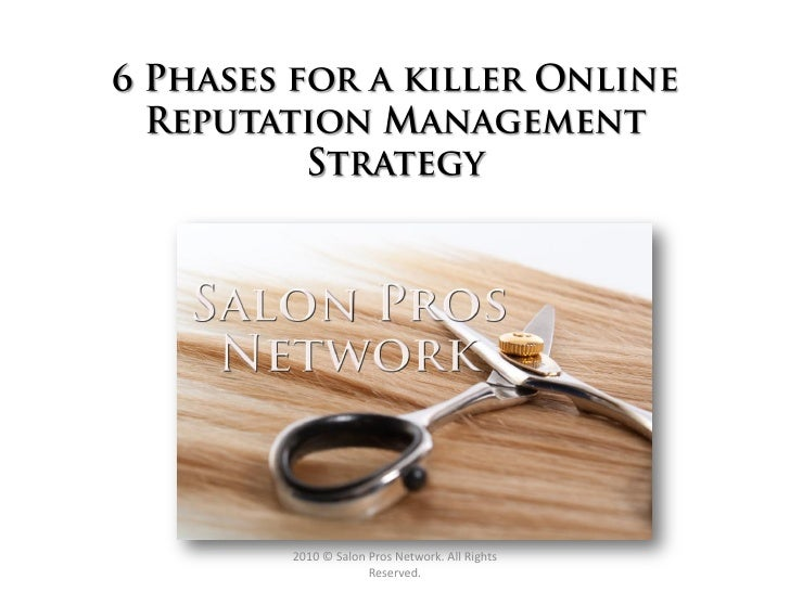 Intro to Online Reputation Management for Salons