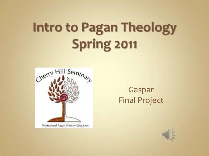 Intro to Pagan Theology