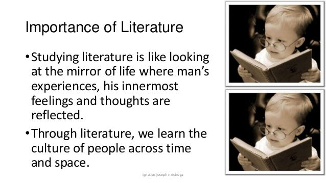 the importance of studying cultural literature essay Essay writing guide why literature is important in our lives our study guides highlight the really important stuff you need to know.