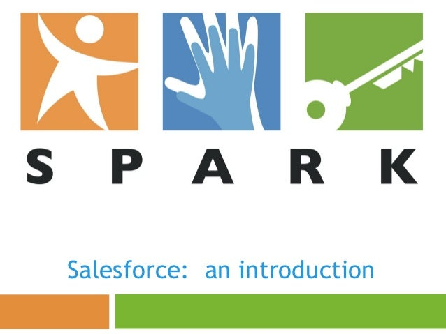 Salesforce: an introduction