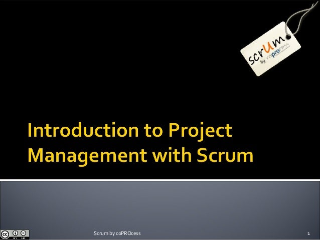 Introduction to Project Management with Scrum