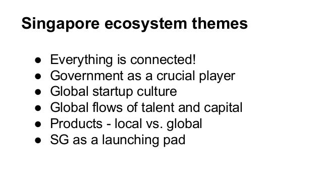 Intro to Southeast Asia Startup Ecosystems