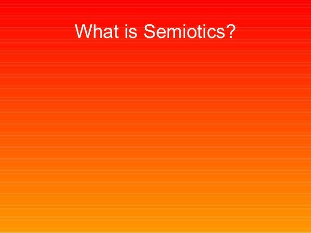 Intro to semiotics