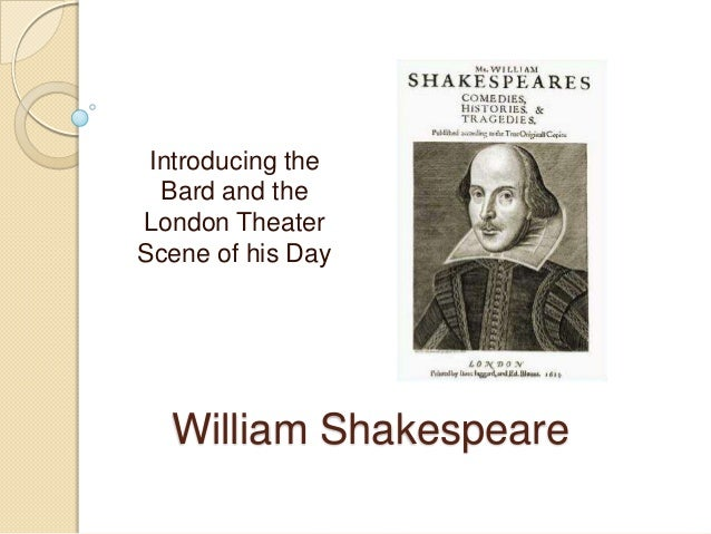 an introduction to the literature by william shakespeare William shakespeare's works are available at wikisource:author:william shakespearethis book is for annotations please do.