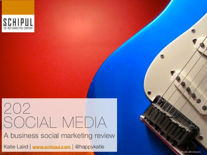 A look at Social Media for Business