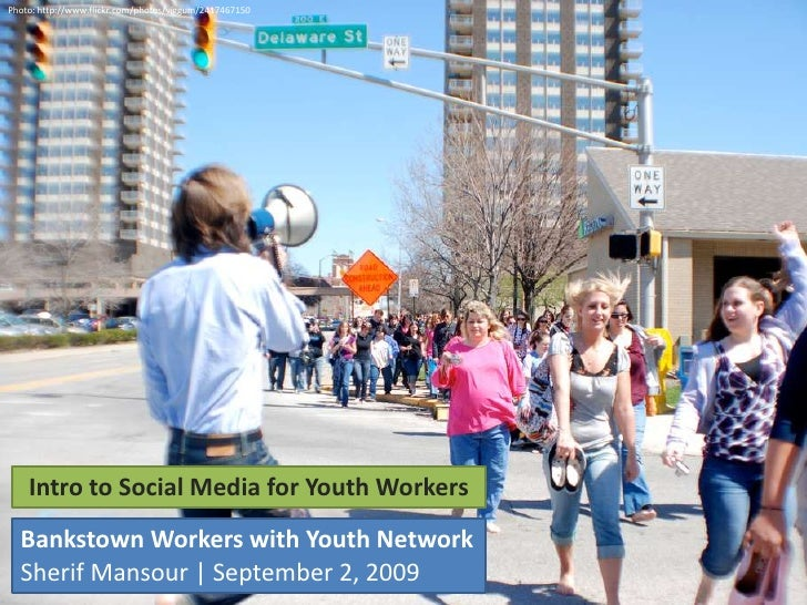 Intro To Social Media For Youth Workers