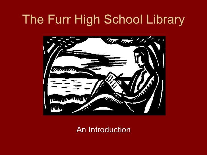 Intro to the_furr_high_school_library 2011