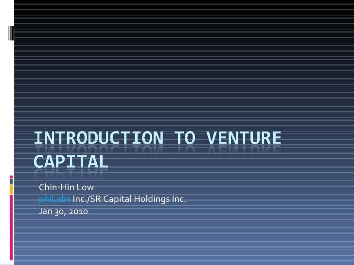 Chin-Hin Low phiLabs  Inc./SR Capital Holdings Inc. Jan 30, 2010
