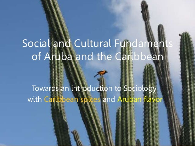 Social and Cultural Fundaments of Aruba and the Caribbean Towards an introduction to Sociology with Caribbean spices and A...