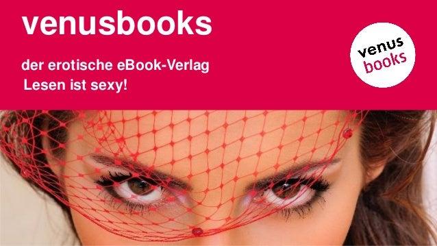 venusbooks der erotische eBook-Verlag Lesen ist sexy!