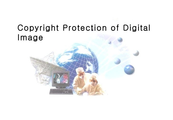 Copyright Protection of Digital Image