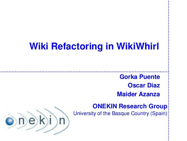 Intro WikiWhirl