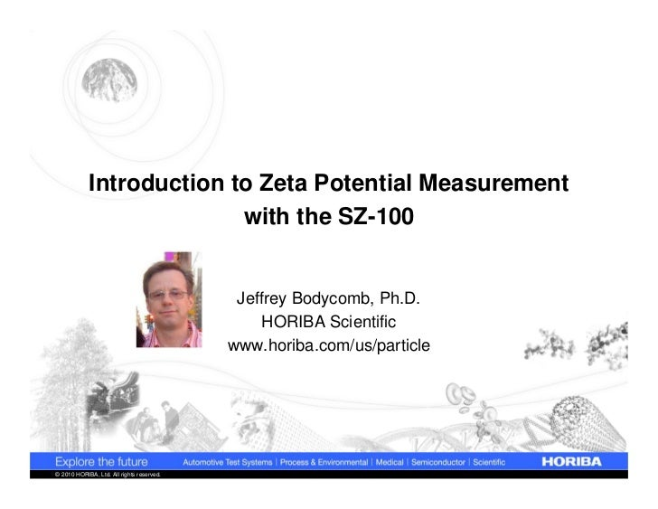 Introduction to Zeta Potential Measurement                          with the SZ-100                                       ...
