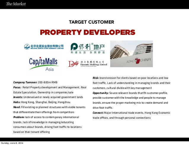 Business plan for property development