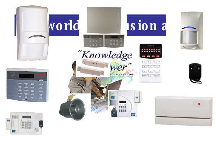 The world of intrusion alarm