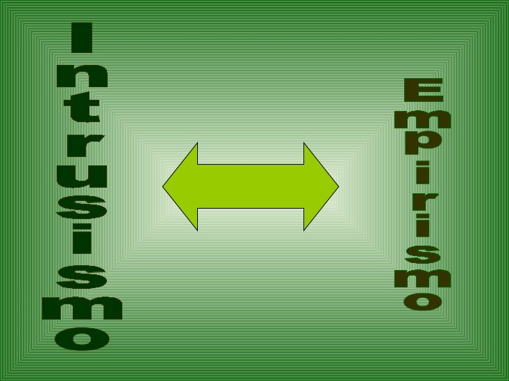 Intrusismo Empirismo