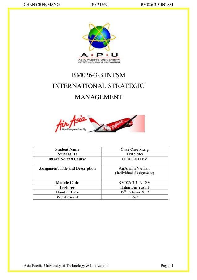 Intsm air asia 25-10-2012