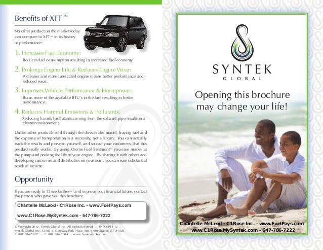 Syntek Global Opportunity Brochure Chantelle McLeod