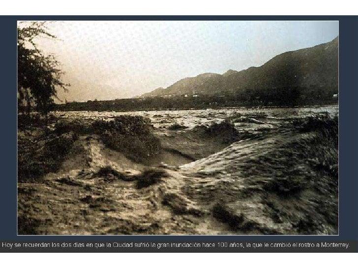 Inundación en monterrey 1909
