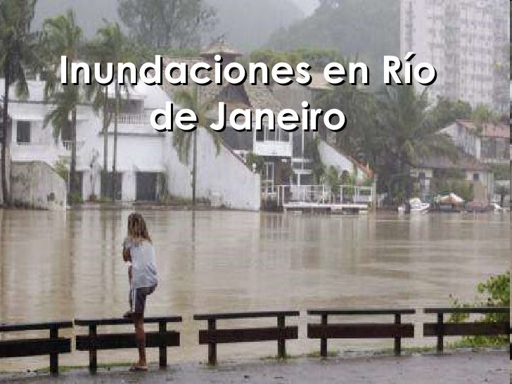 Inundaciones En RíO De Janeiro  Virginiar