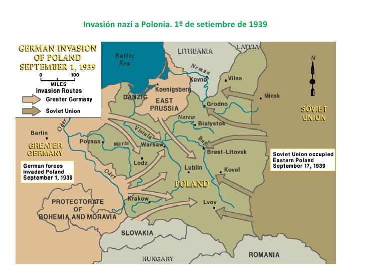 Invasión nazi a Polonia. 1º de setiembre de 1939