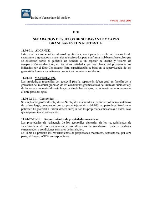 Instituto Venezolano del Asfalto. Versión junio 2006 _____________________________________________________________________...