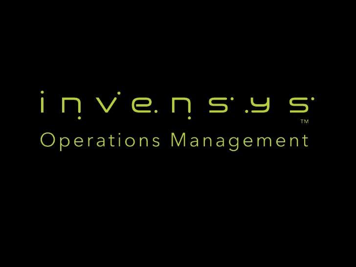 Invensys Upstream SCADA TechnologyAwarenessMaster Stations and RTUsAugust 2012 EditionChris J SmithDirectorRemote Packaged...