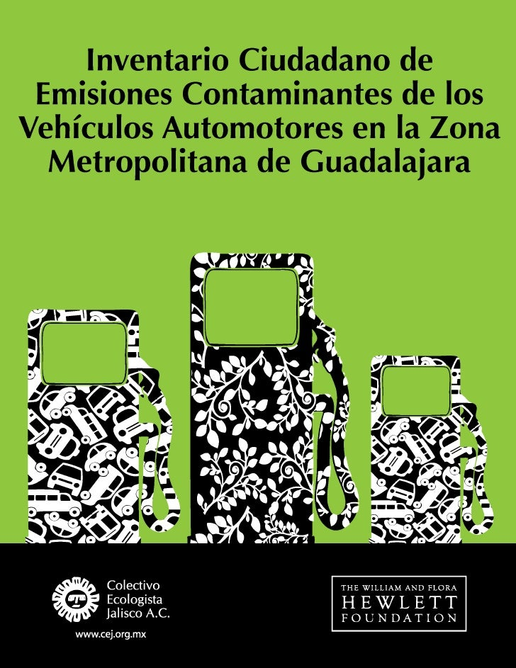 Inventario Ciudadano de Emisiones Contaminantes de los Vehículos Automotores en la Zona Metropolitana de Guadalajara