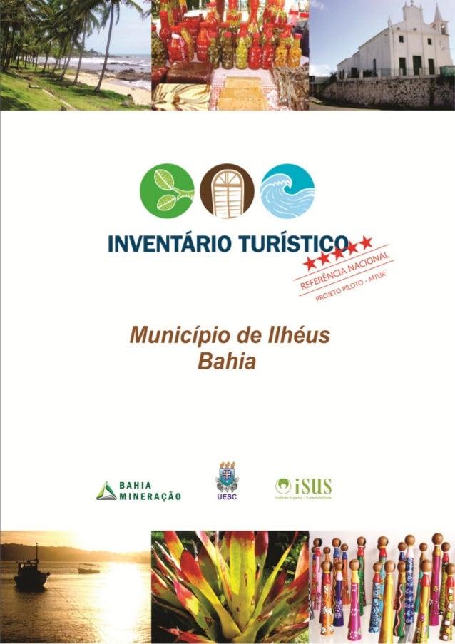 Inventário Turístico - Município de Ilhéus, BA