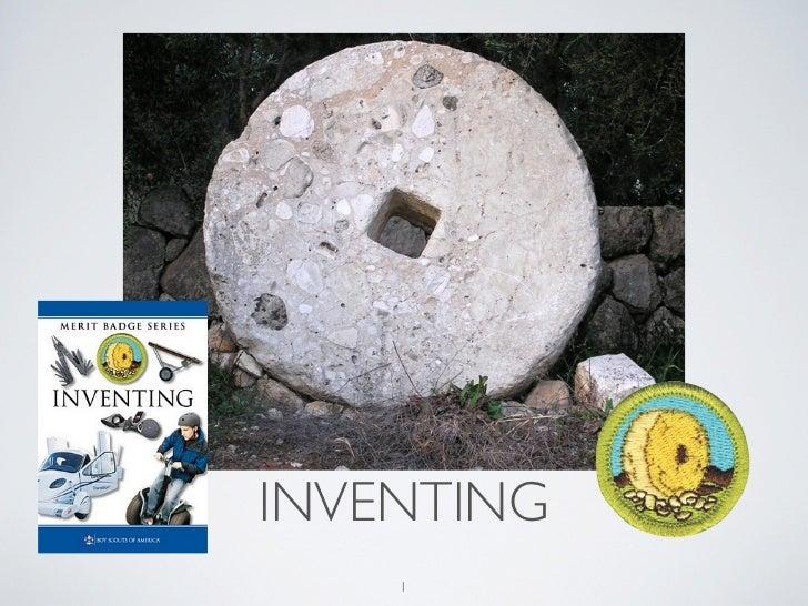 Inventing merit badge