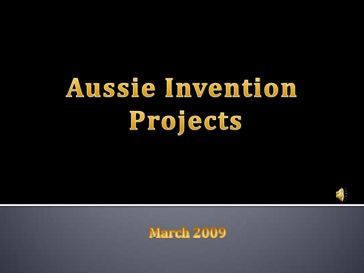 Inventions 09
