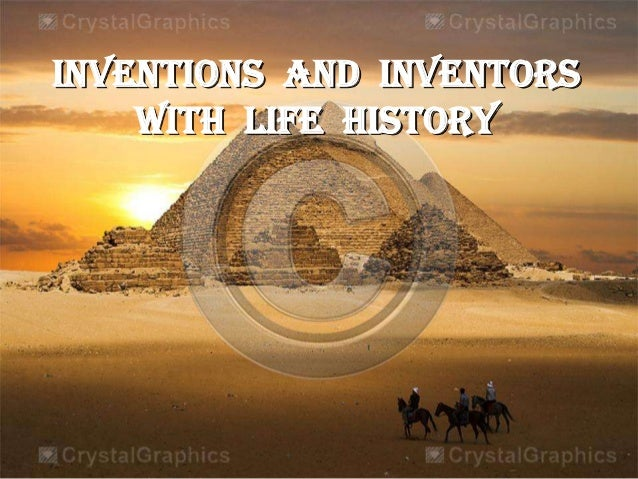 INVENTIONS AND INVENTORS WITH LIFE HISTORY