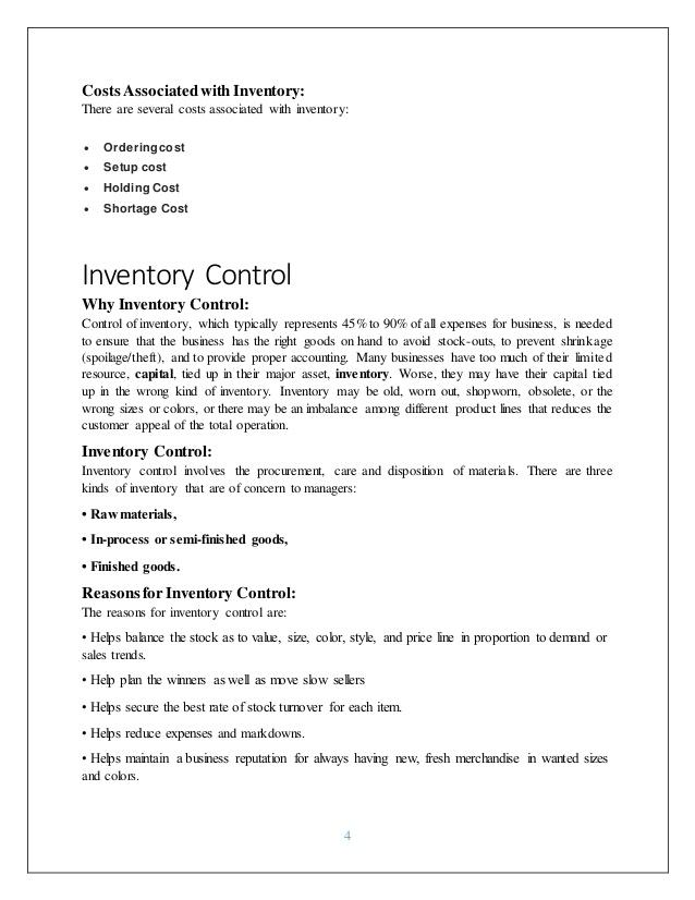 Inventory management practices Thesis Presentan | Patrick Kariuki