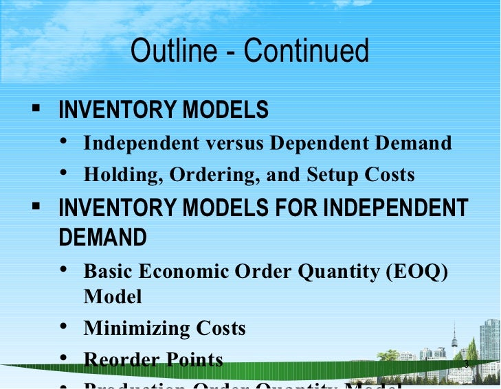 inventory cost minimization Inventory management report - super sea foods 1 p a g e inventory cost minimization is one of the success factors they are trying to focus on.