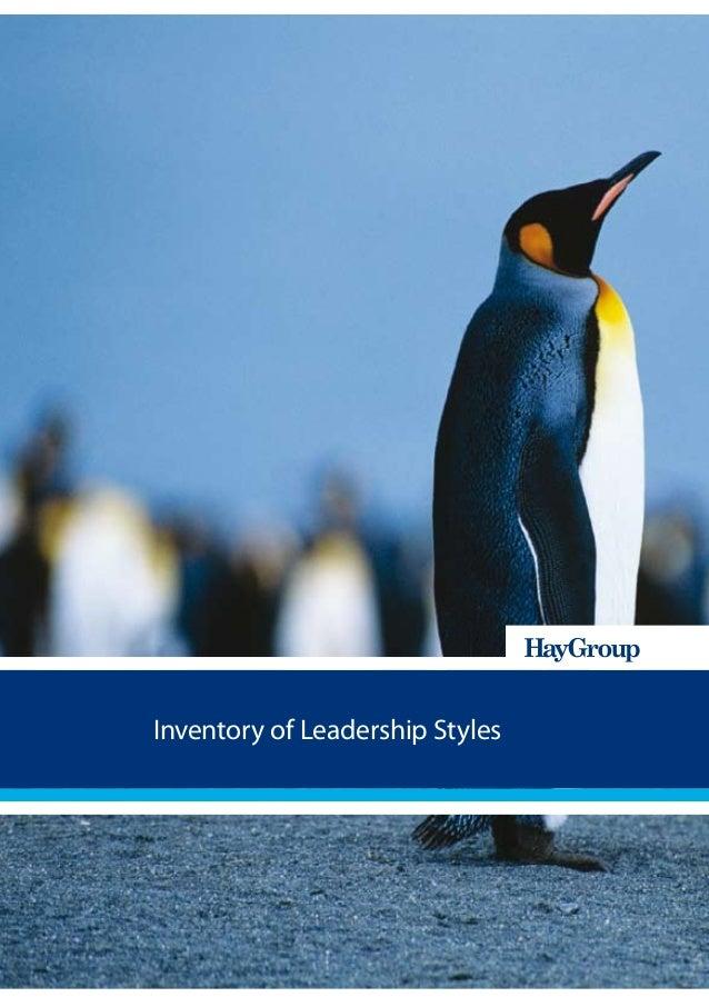 Inventory of Leadership Styles