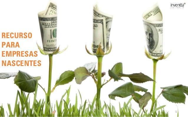Recursos para Empresas Nascentes