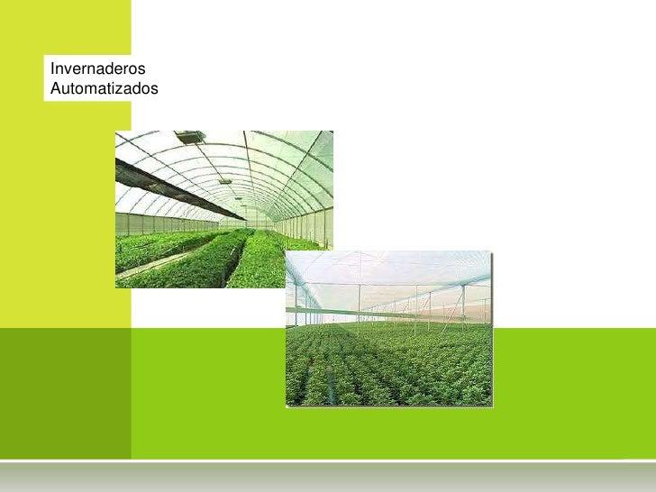 Invernaderos Automatizados<br />