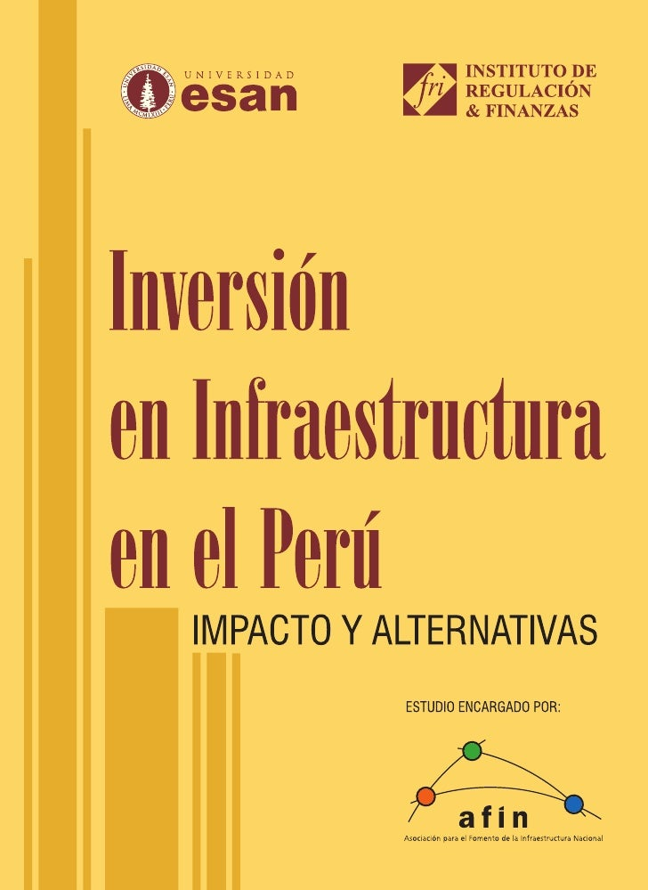 Inversion en infraestructura   ESAN - AFIN