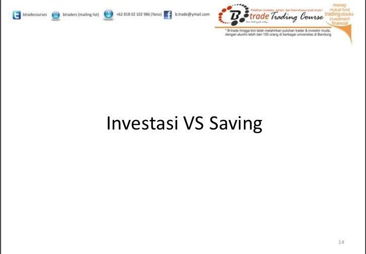 Investasi saham dan forex