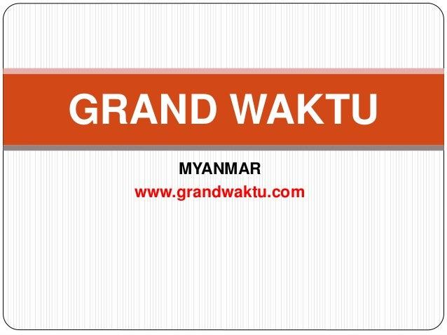 Investasi di myanmar.   pembentukan perusahaan di myanmar