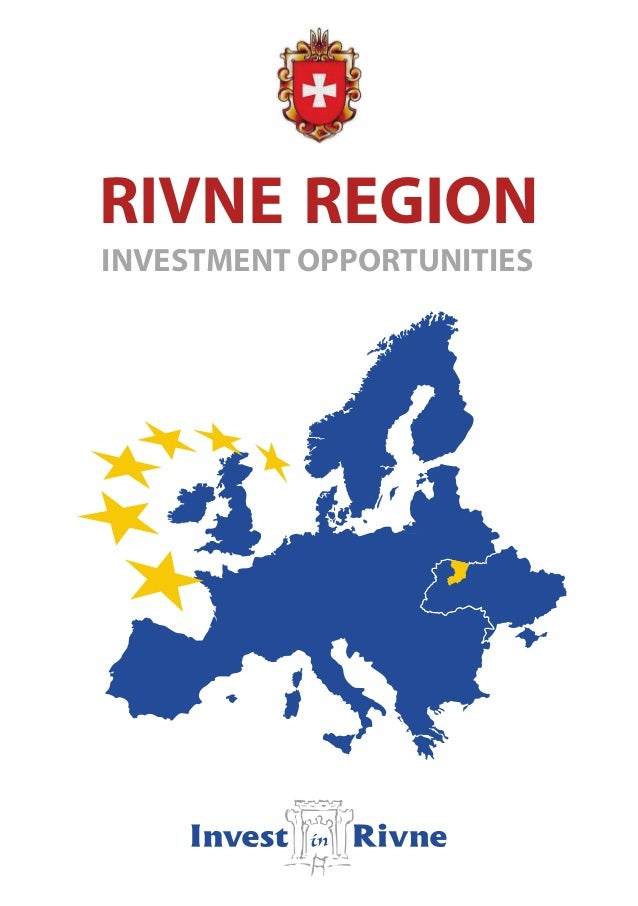 RIVNE REGIONINVESTMENT OPPORTUNITIES