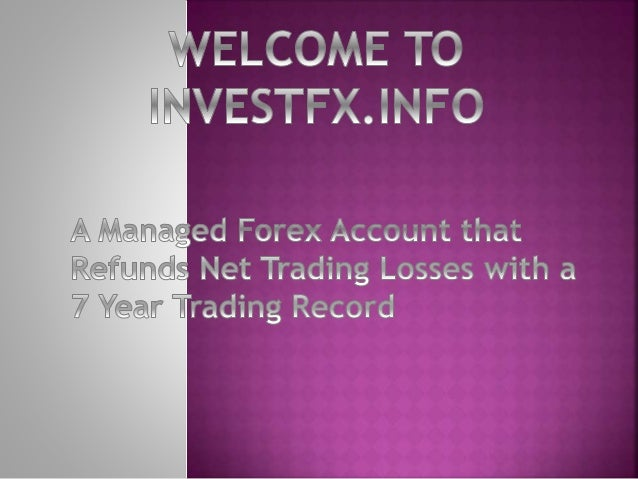 Managed forex account wiki