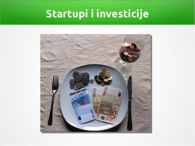 Startupi i investicije