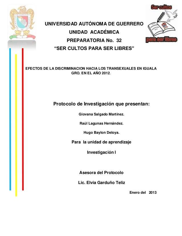 """UNIVERSIDAD AUTÓNOMA DE GUERRERO                    UNIDAD ACADÉMICA                   PREPARATORIA No. 32             """"SE..."""