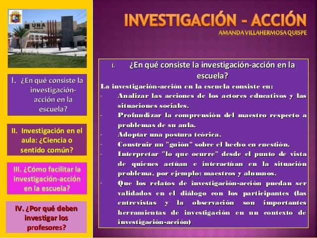 Investigaci n acci n amy 1 for La accion educativa en el exterior