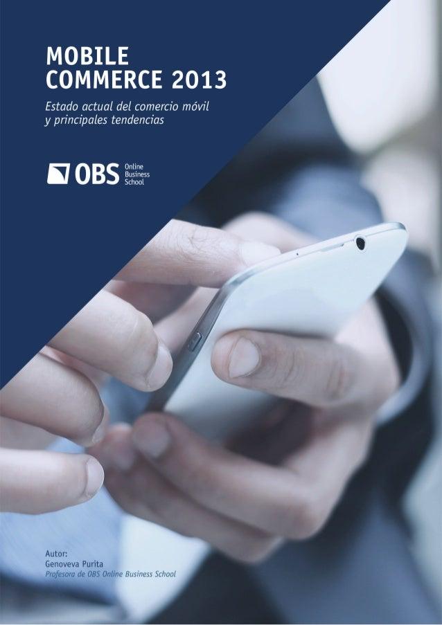 Investigación obs. mobile commerce 2013