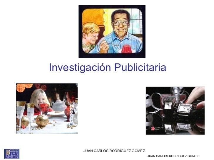 Investigación publicitaria