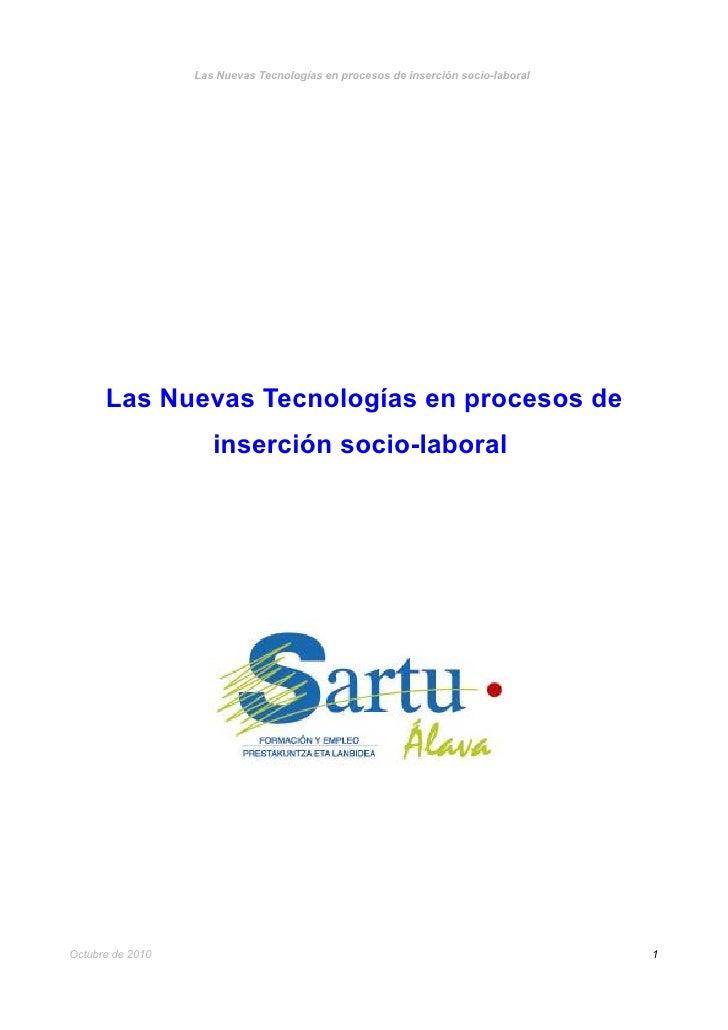 Estudio : Las Nuevas Tecnologías en procesos de inserción socio-laboral