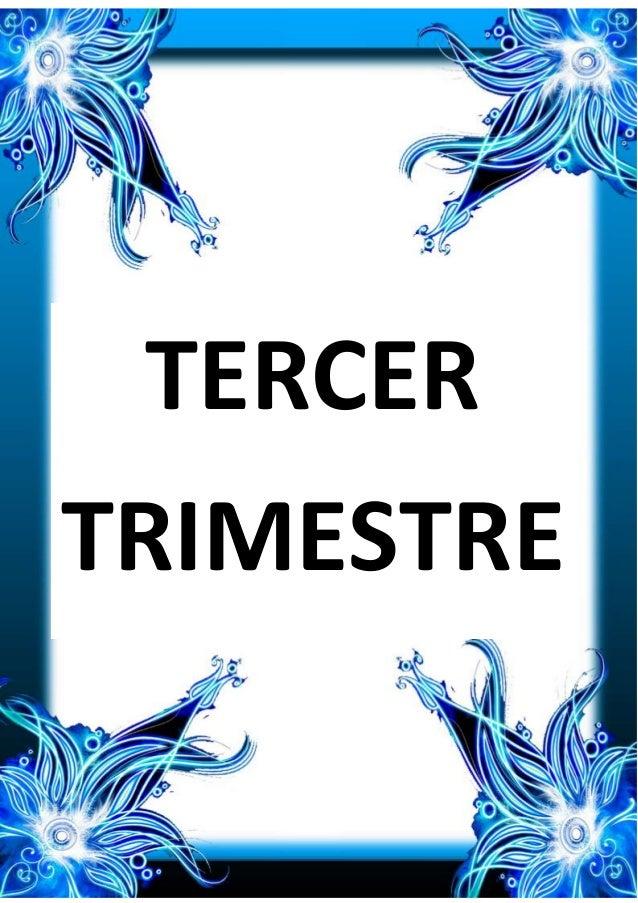 TERCER TRIMESTRE