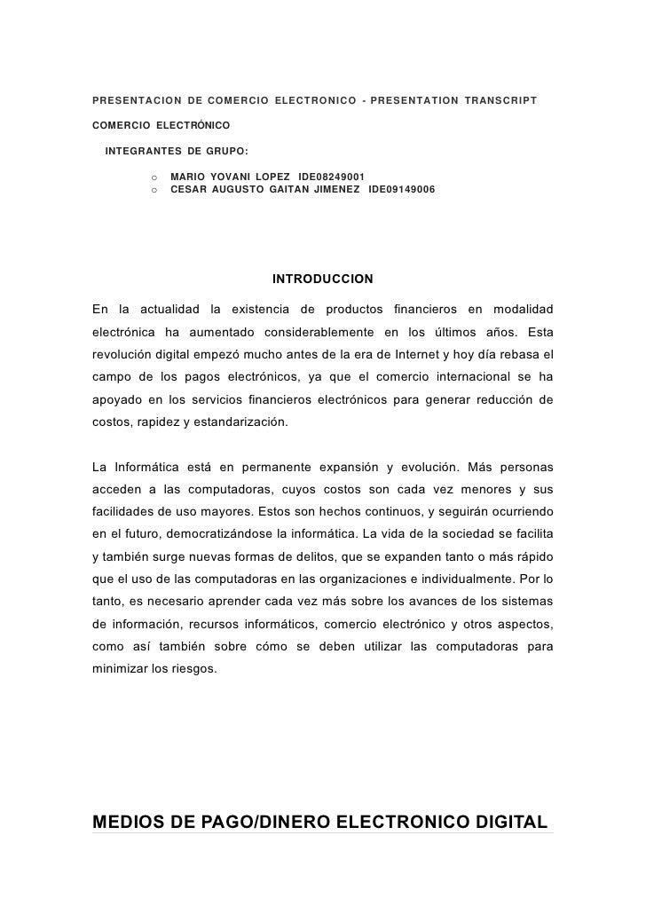Investigacion 3 ecomer2010